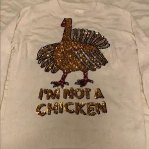 Turkey: Im not a chicken lightweight sweater